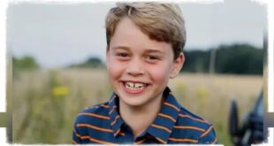 Prince George new photo for his 8th birthday