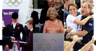 Royal Family Caught Up In The Olympic Spirit