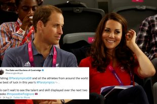 Duke And Duchess Of Cambridge Send A Touching Message Ahead Of Tokyo 2020 Paralympics