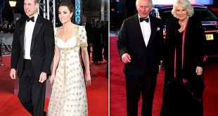 Duke And Duchess Of Cambridge Will Join Charles And Camilla On Red Carpet
