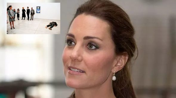 Kate Was Shocked As She Was Forced To Look At A 'Dead' Body