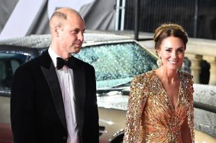 Prince William And Kate Arrived In Style At New James Bond Premiere