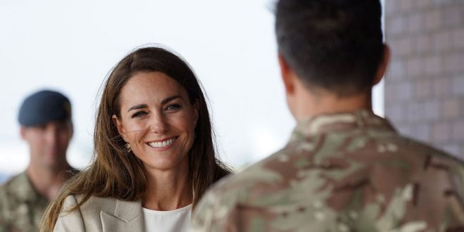 Duchess Kate Returns To Work With Moving Visit
