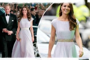 Duchess Kate Appears In Alexander McQueen Dress From 10yrs Ago