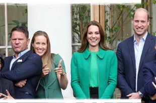 Prince William And Kate Middleton Joined Schoolchildren At Kew Gardens