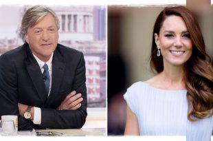 Richard Madeley Shocks Fans With Comment on Duchess Kate's Size